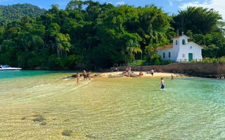 Ilhas Paradisíacas - Praia da Piedade, Angra dos Reis (Foto: Esse Mundo é Nosso)