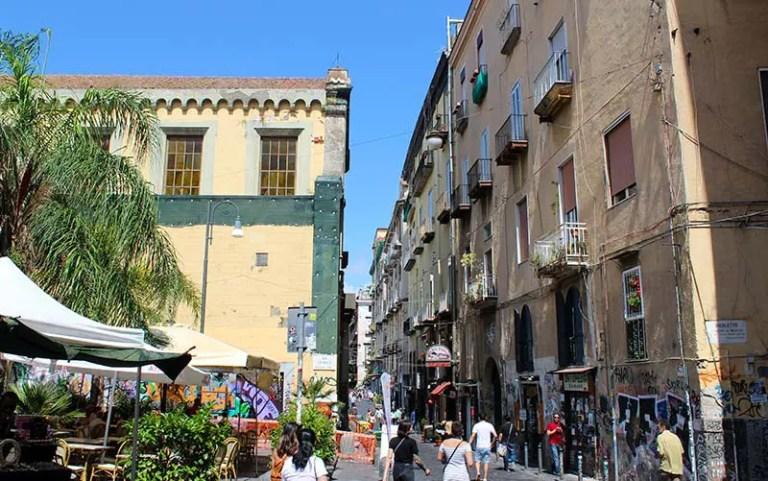 Onde ficar em Nápoles: Centro Histórico (Foto: Esse Mundo É Nosso)