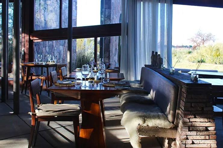 Restaurante do Tierra Atacama (Foto: Esse Mundo É Nosso)