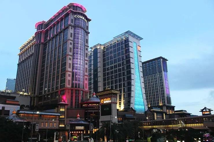 Taipa, a meca dos cassinos em Macau (Foto: Esse Mundo É Nosso)