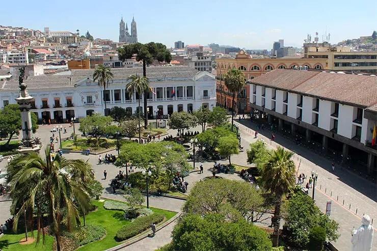 Onde ficar em Quito - Centro Histórico (Foto: Esse Mundo É Nosso)