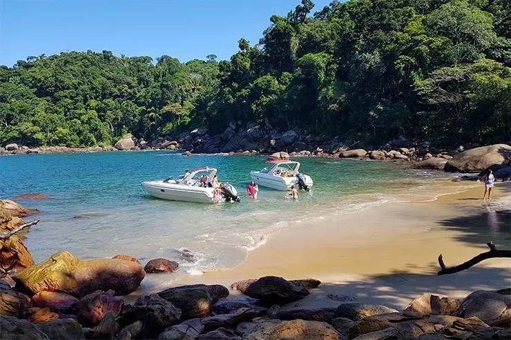 Praia do Caxadaço em Ilha Grade (Foto: Esse Mundo É Nosso)