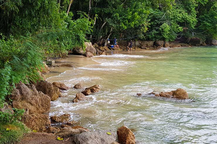 Praia da Bica em Ilha Grande (Foto: Esse Mundo É Nosso)
