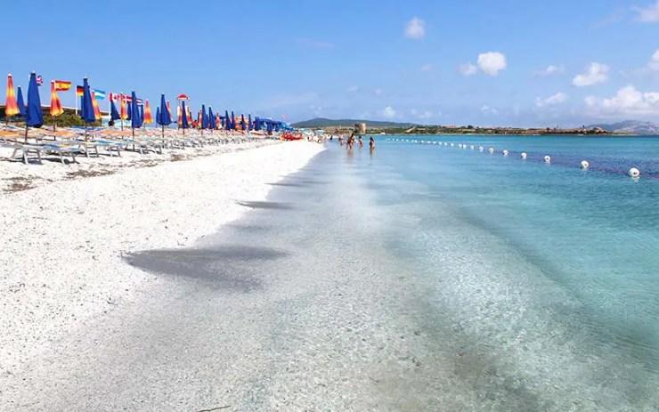 Praia Le Saline (Foto: Esse Mundo É Nosso)