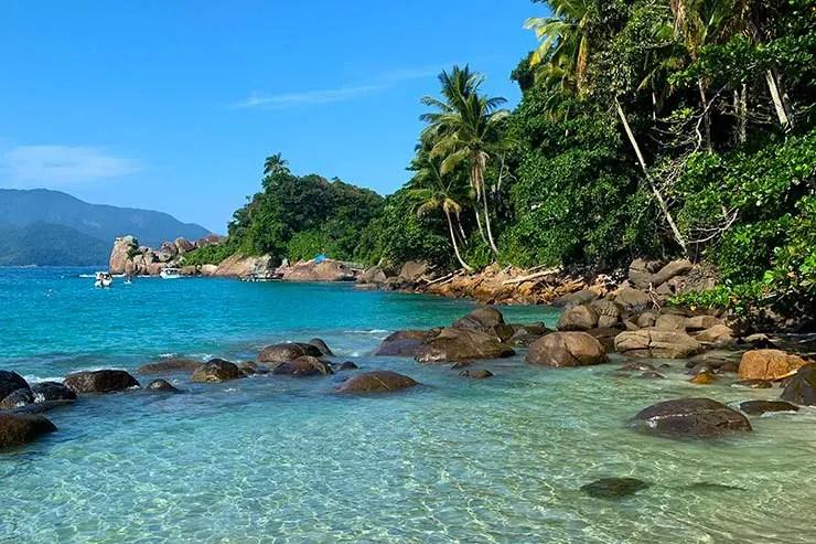 Piscina natural em Ilha Grande (Foto: Esse Mundo é Nosso)