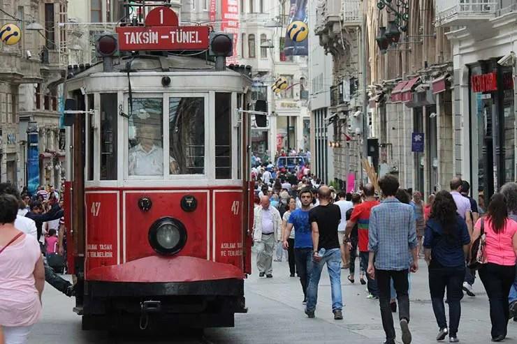 Ruas de Istambul, Turquia