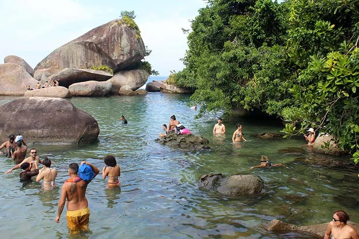 Piscina Natural do Cachadaço em Trindade, RJ - Gráfico de climatologia (Foto: Esse Mundo É Nosso)