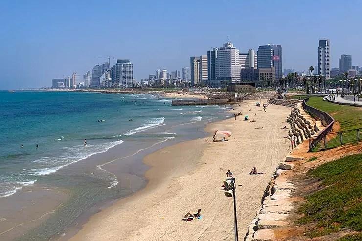 Tel Aviv, em Israel (Foto: Esse Mundo é Nosso)