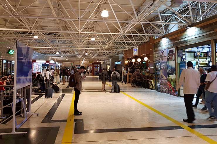 Aeroporto de Adis Abeba, Etiópia (Foto: Esse Mundo É Nosso)