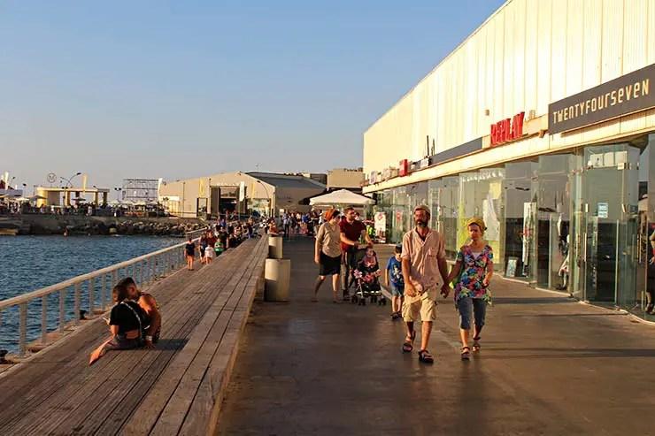 Onde ficar em Tel Aviv: Old Tel Aviv Port (Foto: Esse Mundo É Nosso)
