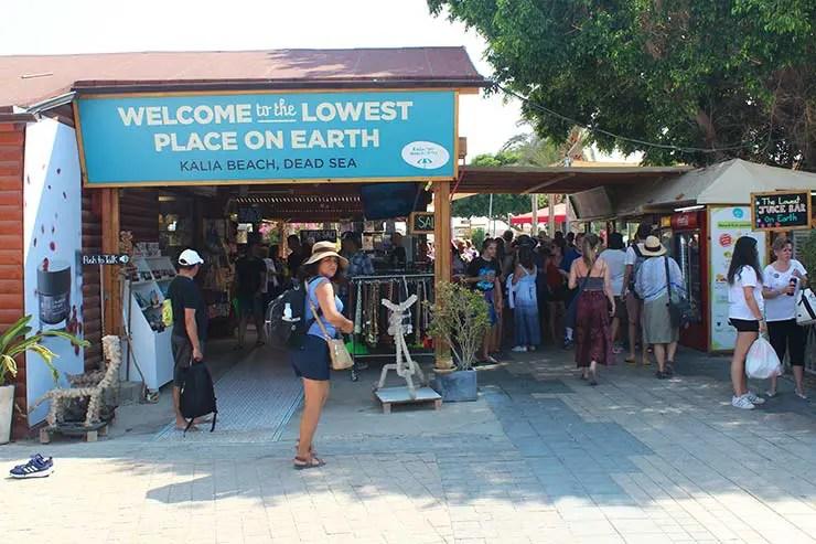 Beach club no Mar Morto cheio no sábado (Foto: Esse Mundo É Nosso)