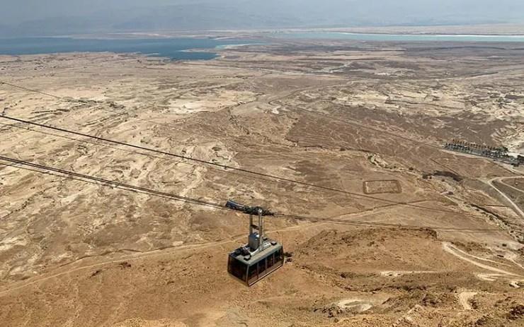 Massada em Israel (Foto: Esse Mundo é Nosso)