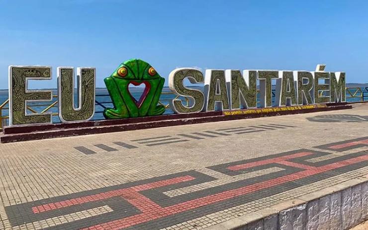 O que fazer em Santarém (Foto: Esse Mundo é Nosso)