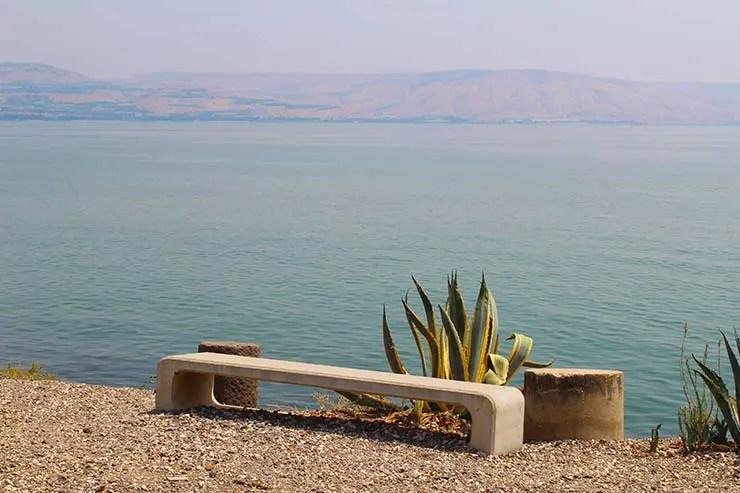 Mar da Galileia em Israel (Foto: Esse Mundo é Nosso)