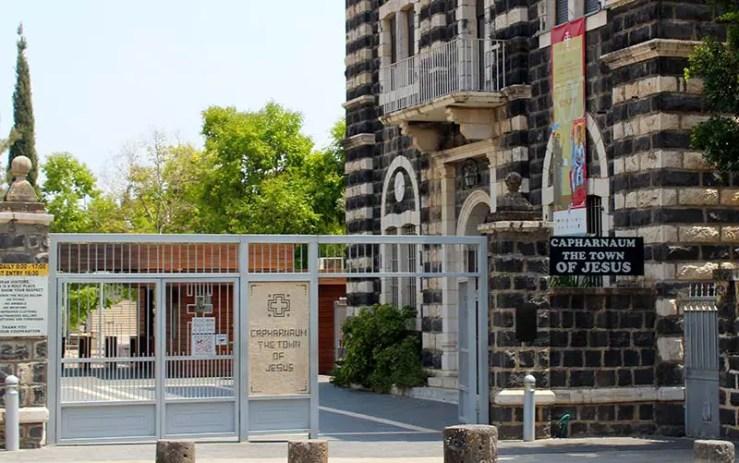 Cafarnaum, em Israel (Foto: Esse Mundo é Nosso)