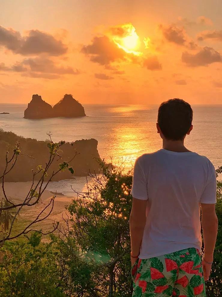 Pôr do sol no Boldró (Foto: Esse Mundo é Nosso)