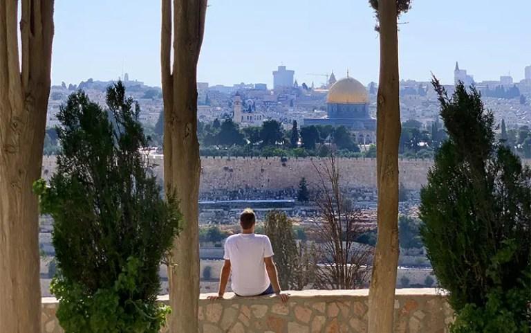 Jerusalém vista do Monte das Oliveiras (Foto: Esse Mundo É Nosso)