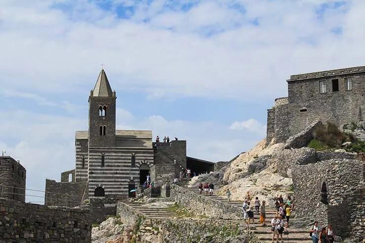 Igreja de São Pedro em Portovenere (Foto: Esse Mundo É Nosso)