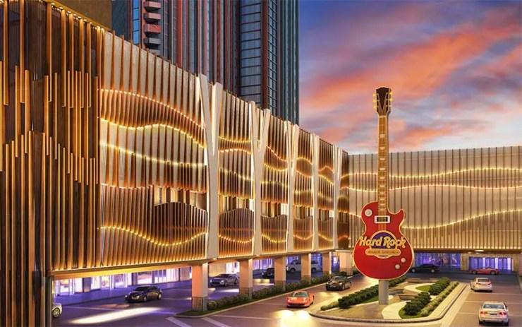Primeiro Hard Rock Hotel de São Paulo será na Paulista - Foto da unidade de Atlantic City (Digulação)