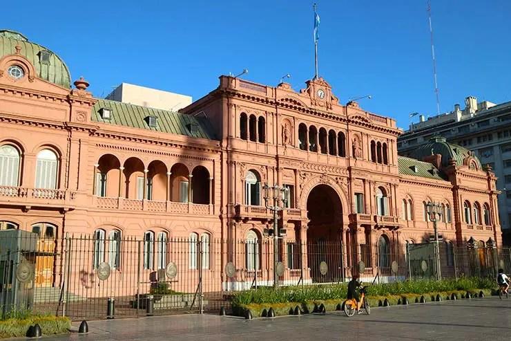 Casa Rosada, em Buenos Aires (Foto: Esse Mundo é Nosso)