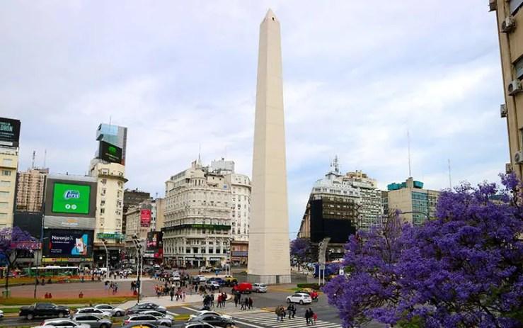 Centro de Buenos Aires (Foto: Esse Mundo é Nosso)