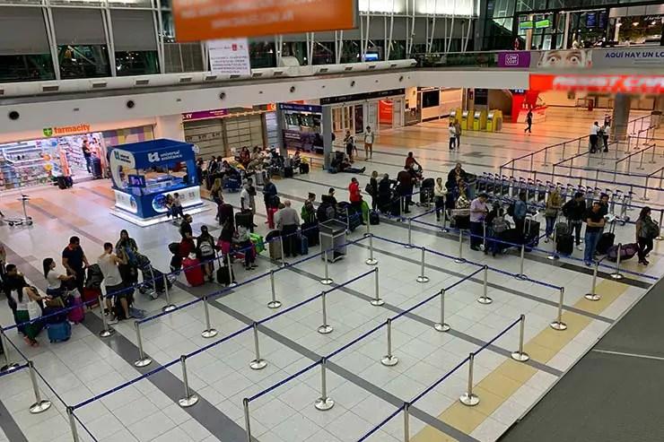Aeroporto de Ezeiza (Foto: Esse Mundo é Nosso)