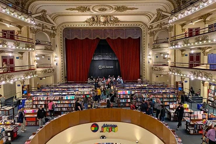 Quantos dias em Buenos Aires: Livraria El Ateneo (Foto: Esse Mundo é Nosso)