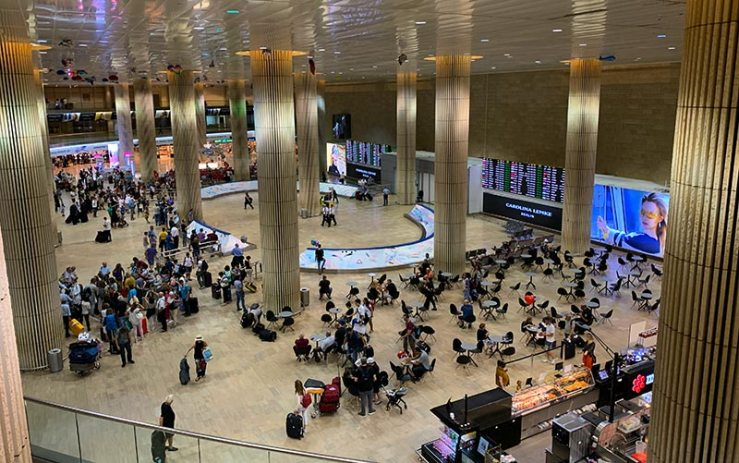 Imigração em Israel: Aeroporto de Tel Aviv (Foto: Esse Mundo é Nosso)