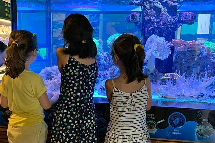 Crianças se divertem no Museu Catavento (Foto: Esse Mundo é Nosso)