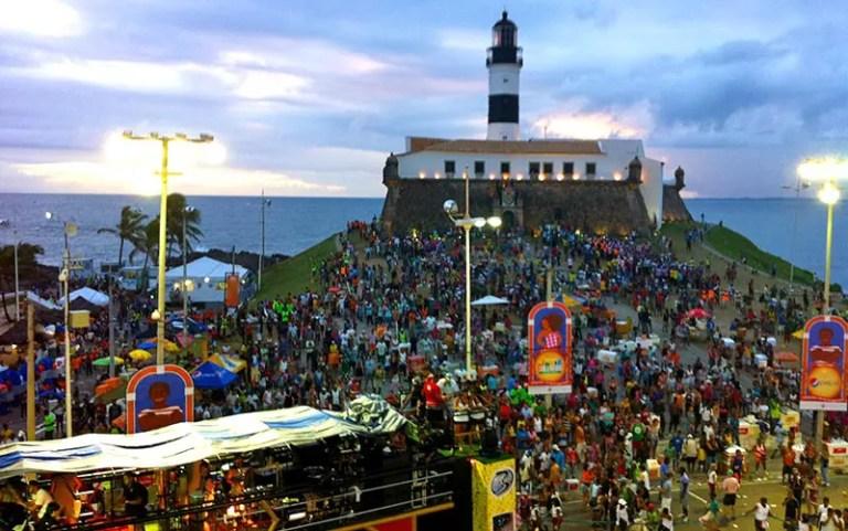 Qual é a data do Carnaval 2020: Farol da Barra em Salvador (Foto: Esse Mundo é Nosso)