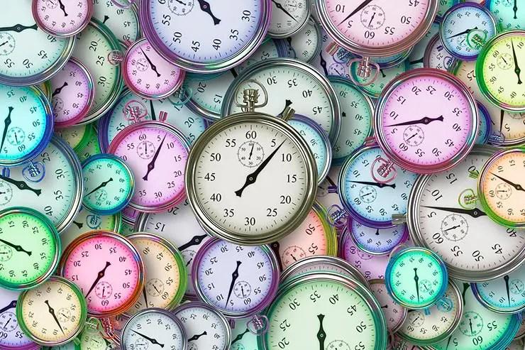 Tempo nos consome (Foto: Pixabay)