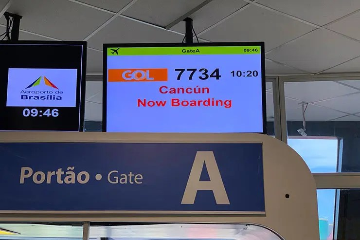 Voo para Cancún (Foto: Esse Mundo é Nosso)