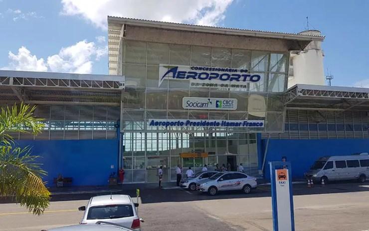 Aeroporto de Juiz de Fora - Zona da Mata (Foto: Esse Mundo É Nosso)