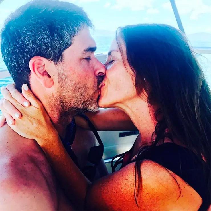 Soleil Moon Frye e seu marido (Foto: Instagram Soleil)