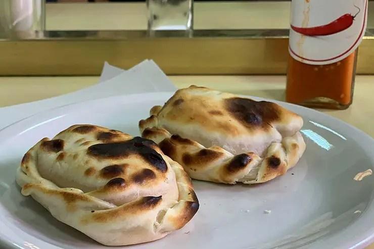 Empanadas da Pizzeria Güerrin (Foto: Esse Mundo É Nosso)