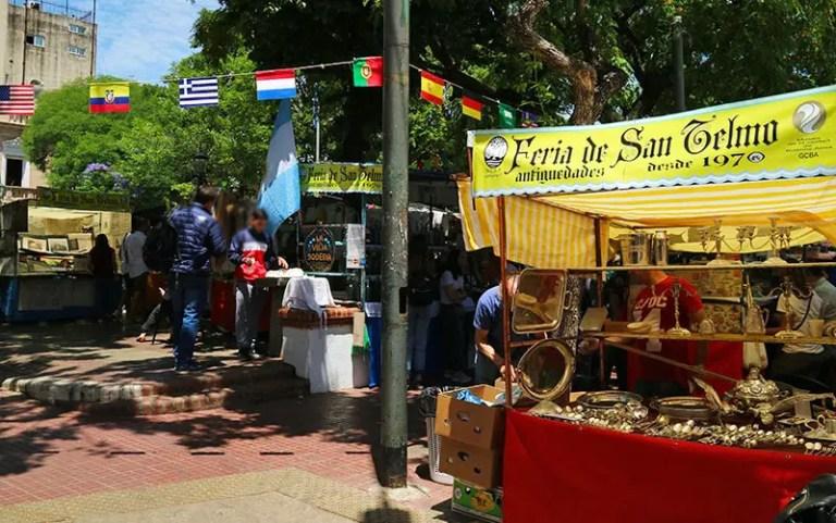 Feira de San Telmo (Foto: Esse Mundo é Nosso)