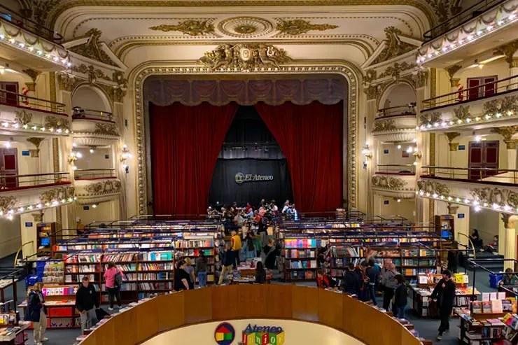 O que fazer em Buenos Aires: El Ateneo (Foto: Esse Mundo é Nosso)