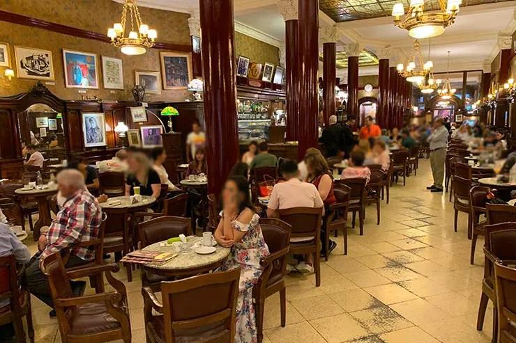 Café Tortoni (Foto: Esse Mundo é Nosso)