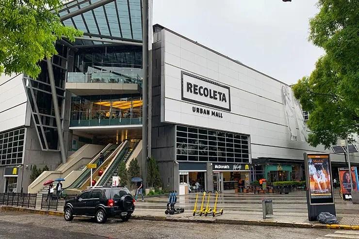 Recoleta Urban Mall (Foto: Esse Mundo é Nosso)