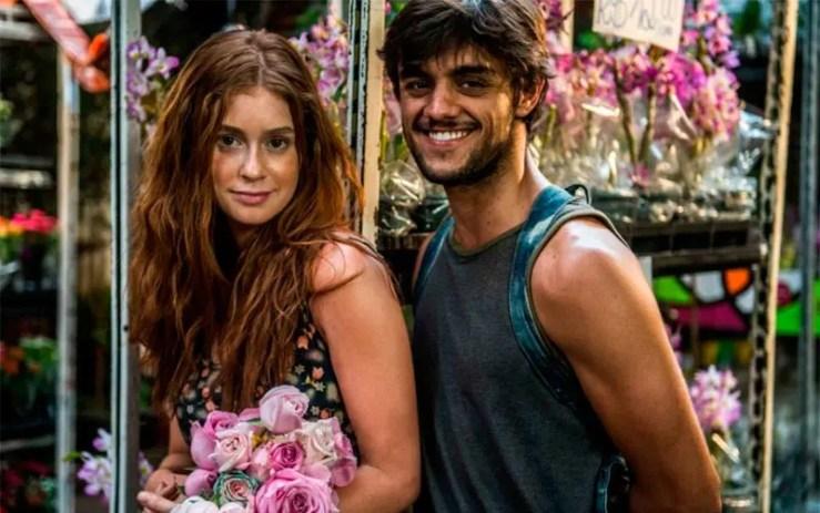 Eliza e Jonatas (Foto: Renato Rocha Miranda/TV Globo)