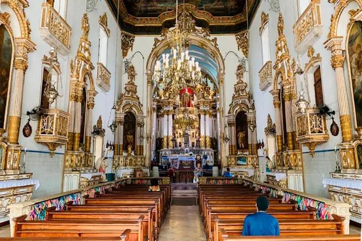 Igreja do Nosso Senhor do Bonfim em Salvador (Foto: Esse Mundo é Nosso)