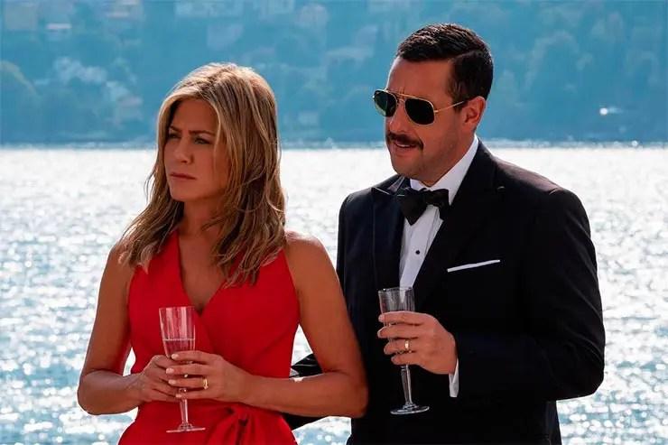 Jennifer Aniston e Adam Sandler (Foto: Instagram/Adam Sandler)