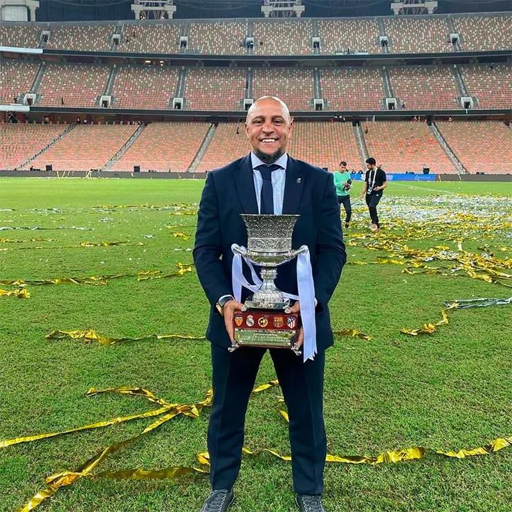 Copa de 2002: Roberto Carlos (Foto: Reprodução/Instagram Roberto Carlos)