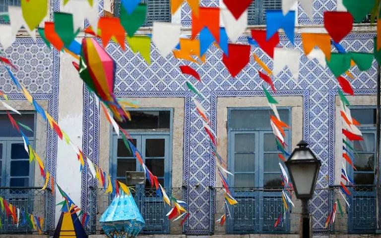 Centro Histórico durante a Festa Junina (Foto: Foto: Roberto Castro/MTur)
