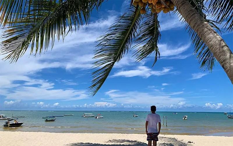 Praia de Moreré em Boipeba