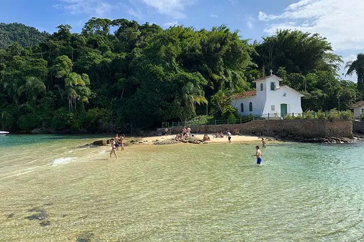Praia da Ponta da Piedade, Angra dos Reis (Foto: Esse Mundo É Nosso)