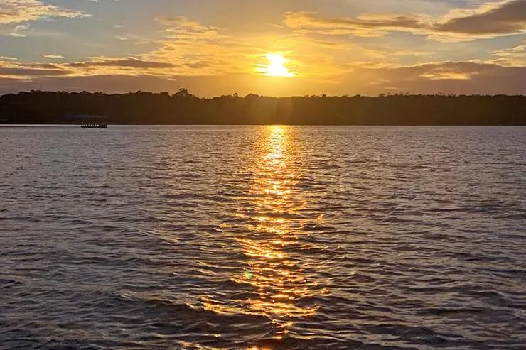 Pôr do sol em Boipeba, na Bahia (Foto: Esse Mundo é Nosso)