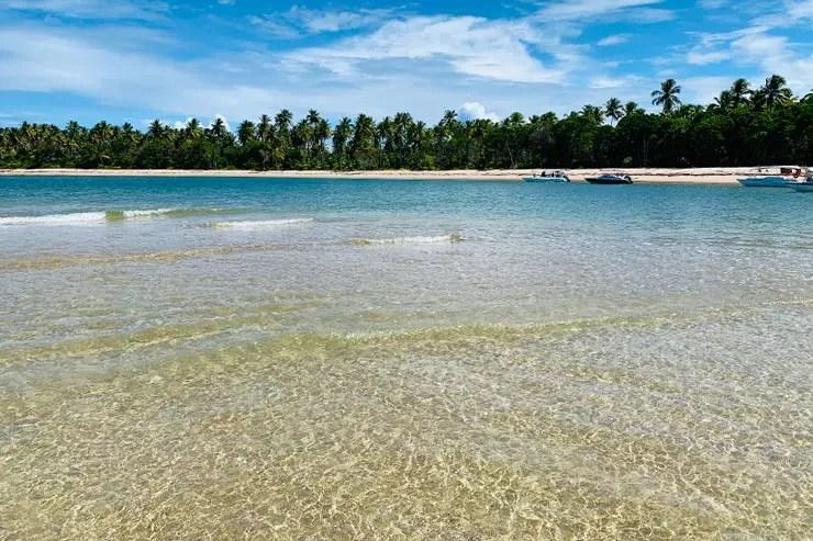 Ilha de Boipeba, na Bahia: Praia dos Castelhanos (Foto: Esse Mundo é Nosso)