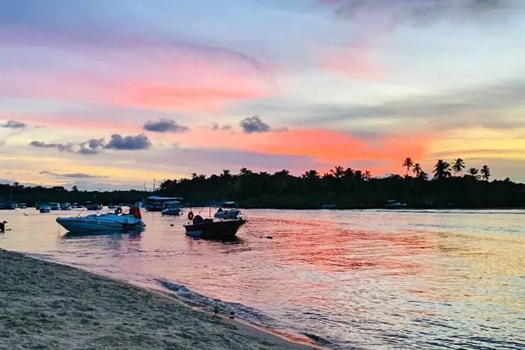Ilha de Boipeba: Pôr do sol (Foto: Esse Mundo é Nosso)