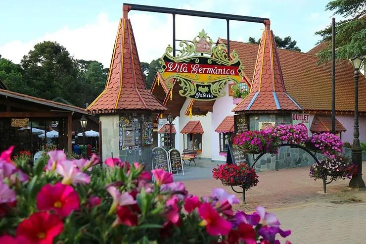 Vila Germânica, em Monte Verde (Foto: Esse Mundo é Nosso)